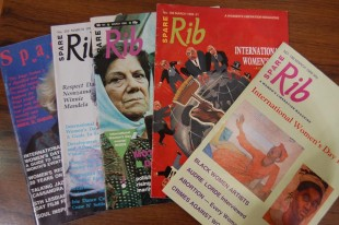 Copies of Spare Rib celebrating International Women's Day