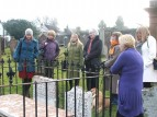 On the Wigtown Women's Heritage Walk, March 2010
