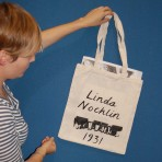 Hand painted bag and ltd edition print