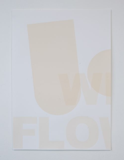 Claire Barclay, Untitled, 2012 (diptych, White flower) (1)