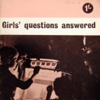 Girls' Questions Answered pamphlet (cover detail)