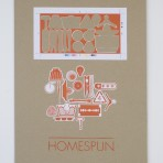 Homespun: Exclusive ltd edition screen print by Kate Gibson