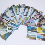Raging Dyke Network: Exclusive ltd edition colour postcards by Nicky Bird with Alice Andrews