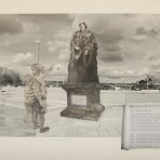 Mary Barbour Monument: Exclusive ltd edition collage by Sharon Thomas