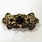 Suffragette brooch, c. early 20th century