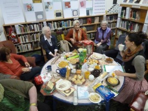 Unwind with a Book group meeting in December 2012