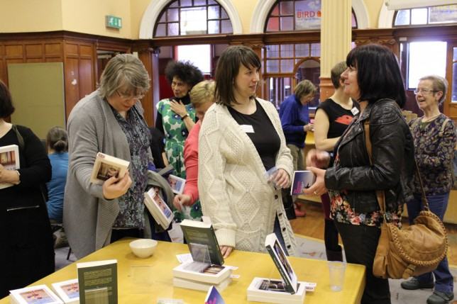 Women at the GWL World Book Night event in 2013