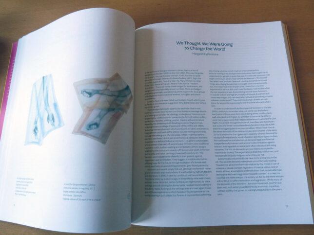 21 Revolutions interior: Ruth Barker and Margaret Elphinstone