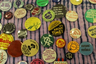 Badges donated by Peter Gilpin