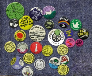 A selection of Badges from 'Badges of Honour'