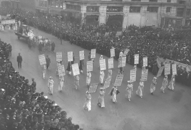 Join the March of Women!