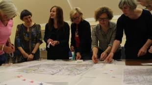 A National Lifelong Learning session mapping women's history in East Dunbartonshire