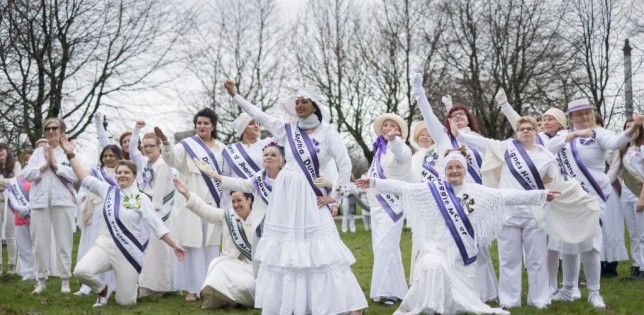 March of Women on Glasgow Green