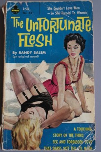 Cover of The Unfortunate Flesh