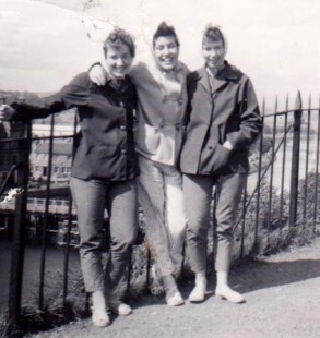 Ann and friends 1959