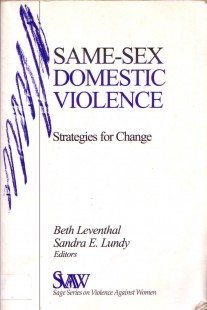 Same-Sex Domestic Violence: Strategies for Change book cover