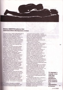 Spare Rib article on sadomachism (part 2), September 1986