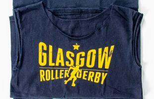 Glasgow Roller Derby t-shirts
