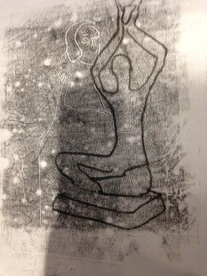 Image created by workshop participants inspired by the exhibition