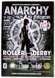 Anarchy in the UK programme cover