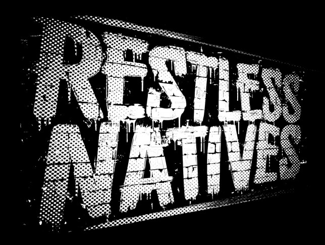 Restless Natives Logo black