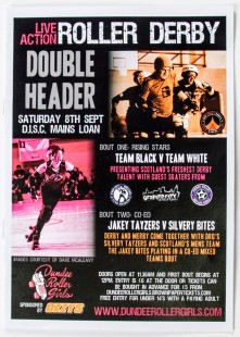 Double Header bout programme, 8th September 2012