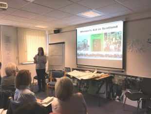 Speaking Out volunteer training 2