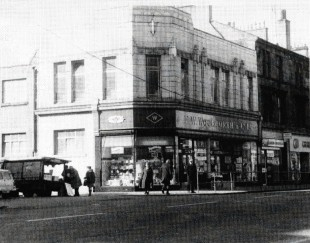 Woolworths Store, Glasgow Road, Clydebank, 1960s.