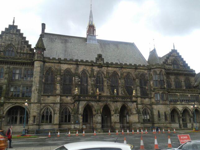 Rochdale Town Hall (Credit: Linda Woodburn)