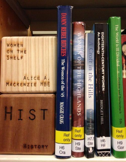 Highland Women in GWL's book collection for web