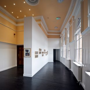 Upstairs gallery space