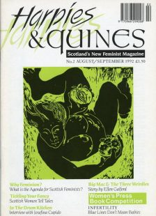 Harpies & Quines Issue 2 cover