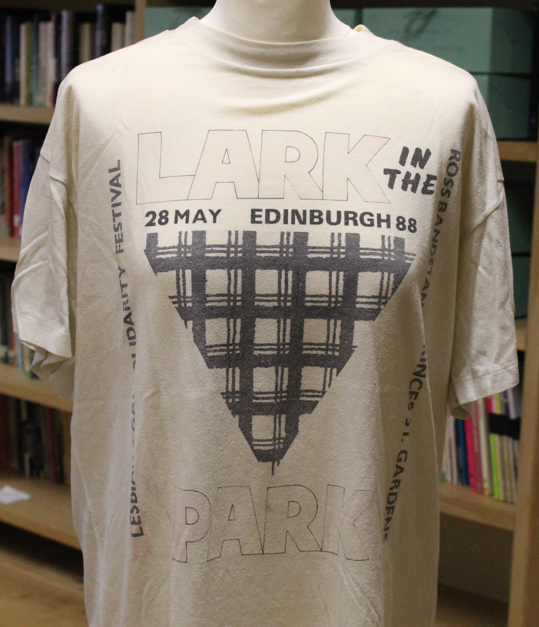 Lark in the Park T-shirt, unknown designer, 1988