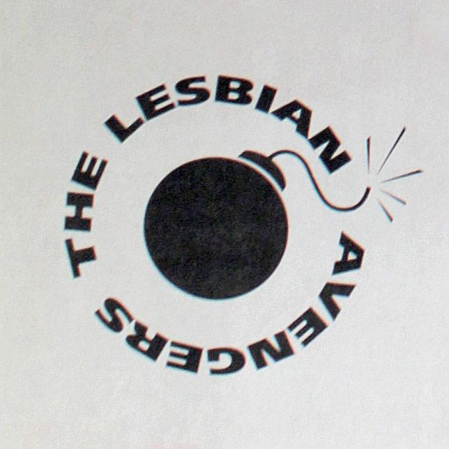 Lesbian Avengers logo