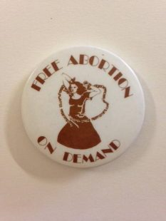 Free Abortion on Demand badge