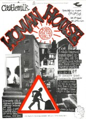 Castlemilk Womanhouse poster