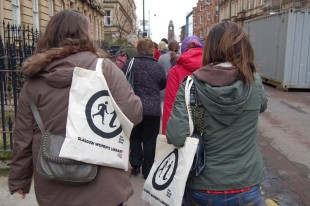 On the Garnethill Women's Heritage Walk