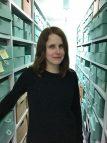 Archivist Nicola Maksymuik