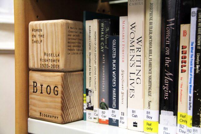 Women on the Shelf markers