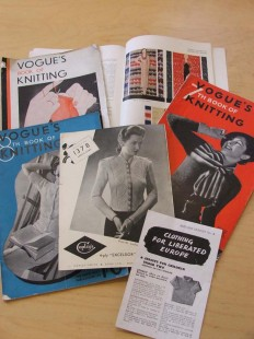 1930s knitting patterns from the Archive collection