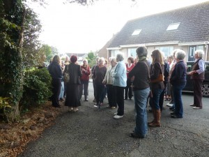 Women's History Walk at the Wigtown Book Festival 2011