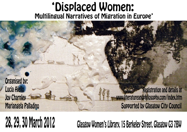 Displaced Women Conference Poster