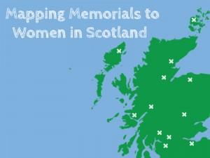 Mapping Memorials to Women in Scotland (map logo)