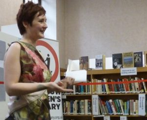 Kirsty Logan reading at a Two Decades Event in June 2012