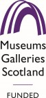 Museums Galleries Scotland funded logo