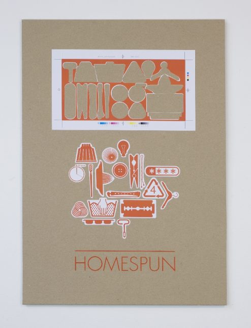 Kate Gibson, Homespun, 2012
