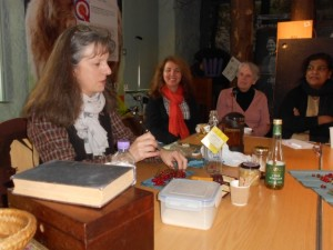 Country Tales session, making herbal rememdies