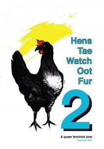 Hens Launch image copyright Hannah Moitt