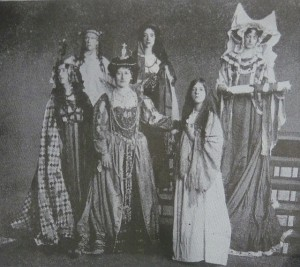 Drama Queens: Suffragettes performing in a Pageant of Great Women