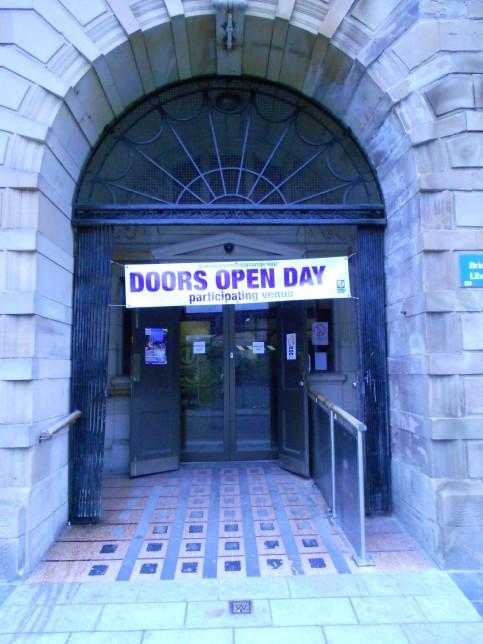 23 Landressy Street on Doors Open Day 2013